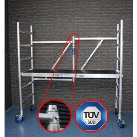 ASC ® Zimmerfahrgerüst, ZiFa, Klappgerüst, NUR Gundmodul bis 3,0 m