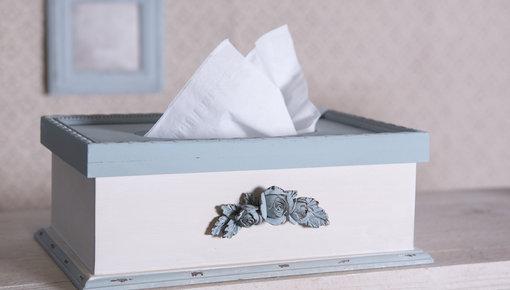 Zeephouders & tissueboxen