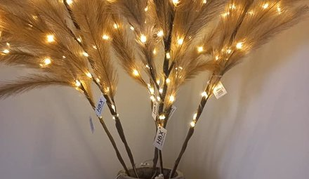 Fahnen mit LED-Leuchten