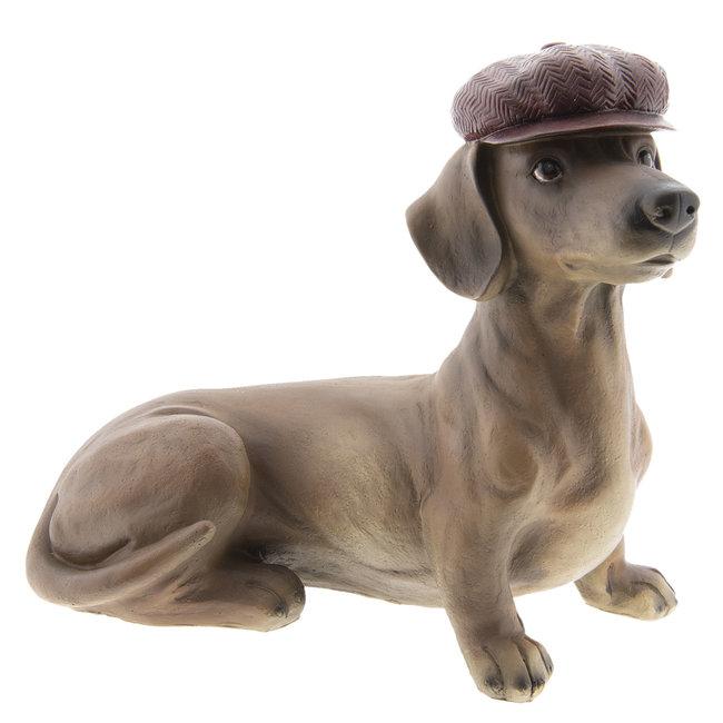 Clayre & Eef Decoratie hond 35*19*30 cm 6PR2422