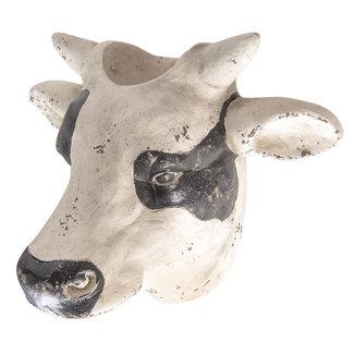Clayre & Eef Clayre & Eef Bloempot koe hoofd 39*33*26 cm 6PR2529