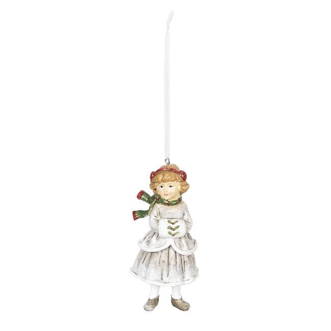 Clayre & Eef Decoratie hanger kind 5*5*12 cm 6PR2790