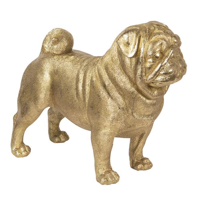 Clayre & Eef Decoratie hond 43*20*35 cm 6PR2815
