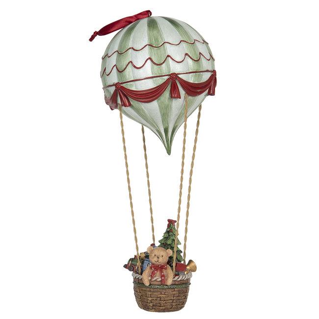 Clayre & Eef Decoratie hanger luchtballon Ø 14*37 cm 6PR2905