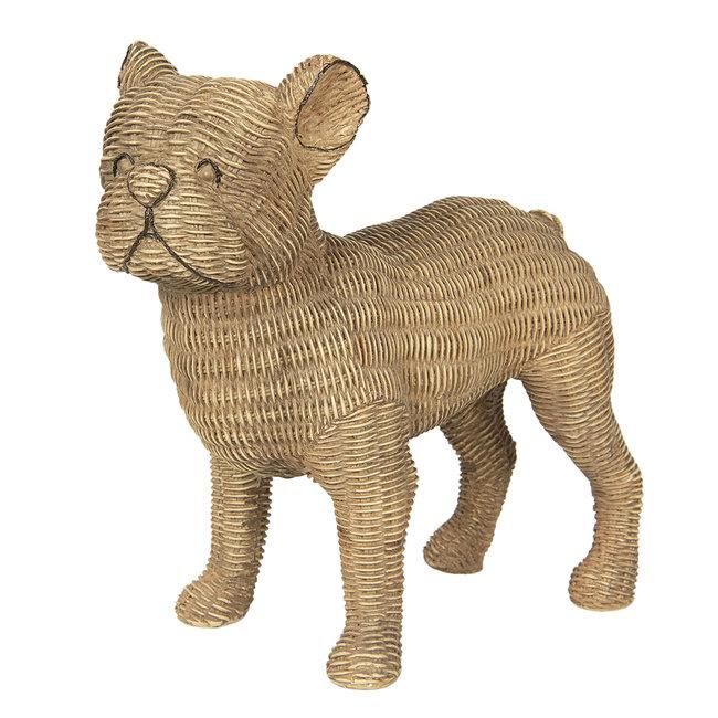 Clayre & Eef Decoratie hond 31*16*30 cm 6PR2925