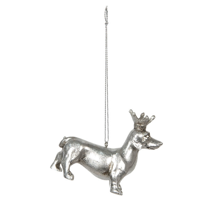 Clayre & Eef Decoratie hond 8*3*6 cm 6PR2926