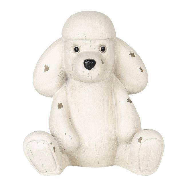 Clayre & Eef Decoratie hond 14*12*16 cm 6PR2929