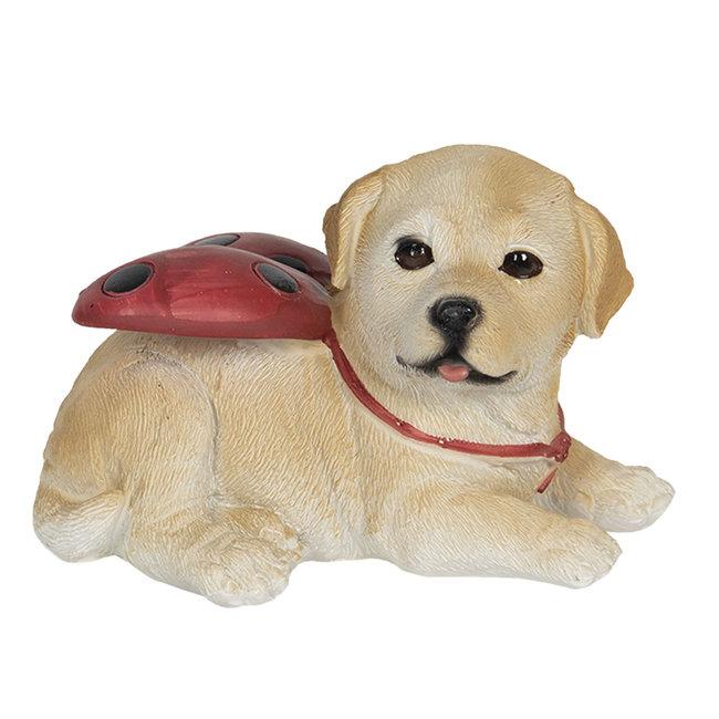 Clayre & Eef Decoratie hond 11*9*7 cm 6PR3118