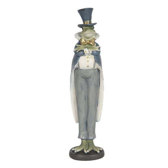 Clayre & Eef Decoratie kikker jongen 7*7*32 cm 6PR3187