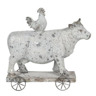 Clayre & Eef Clayre & Eef Decoratie koe en kip 26*10*24 cm 6PR3196