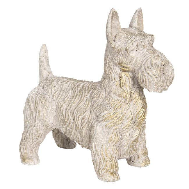 Clayre & Eef Decoratie hond 31*17*33 cm 6PR3212