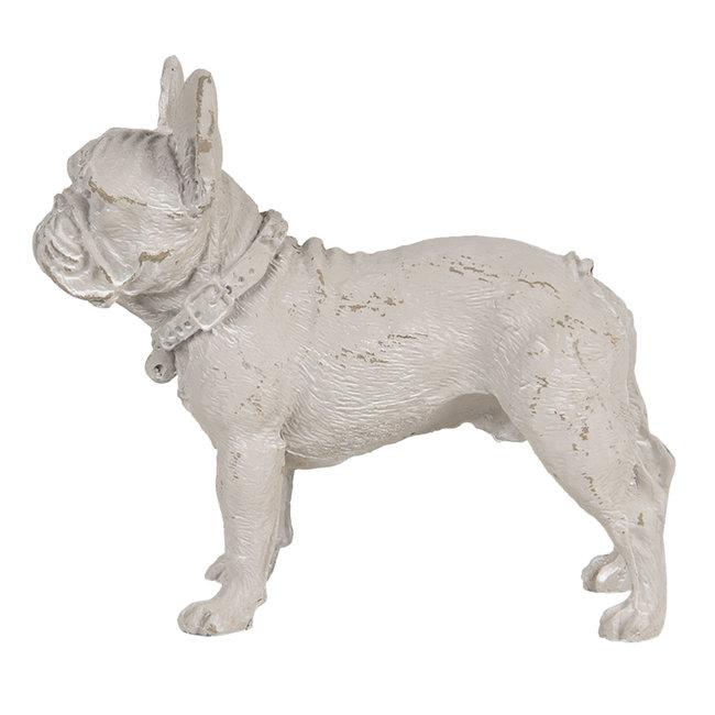 Clayre & Eef Decoratie hond 14*6*12 cm 6PR3239