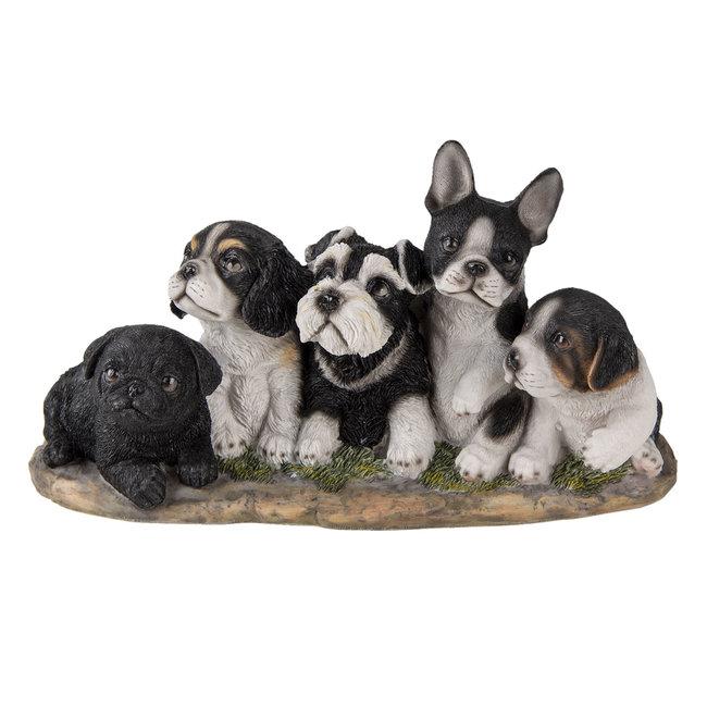 Clayre & Eef Decoratie honden 33*12*17 cm 6PR3340