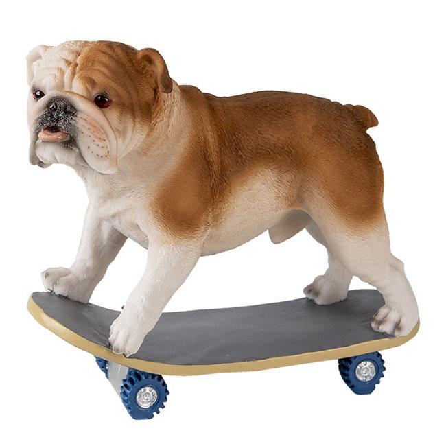 Clayre & Eef Decoratie hond 18*10*16 cm 6PR3350
