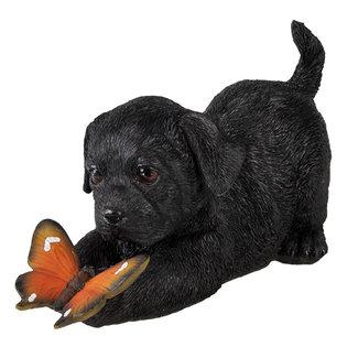 Clayre & Eef Clayre & Eef Decoratie hond 20*8*11 cm 6PR3359