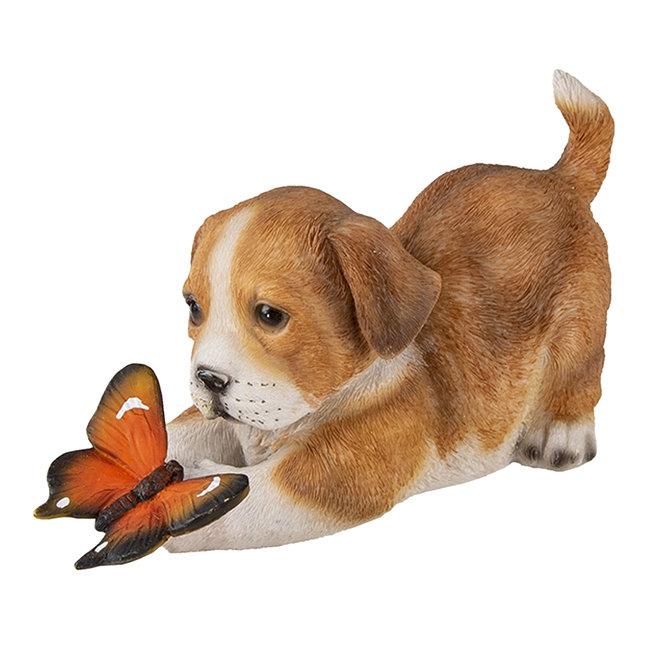 Clayre & Eef Decoratie hond 20*8*11 cm 6PR3360