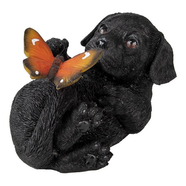 Clayre & Eef Decoratie hond 14*9*10 cm 6PR3362