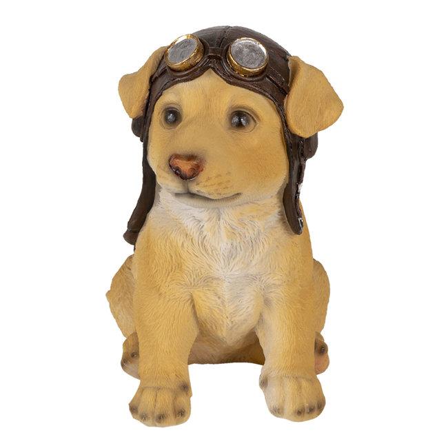 Clayre & Eef Decoratie hond 14*10*16 cm 6PR3368