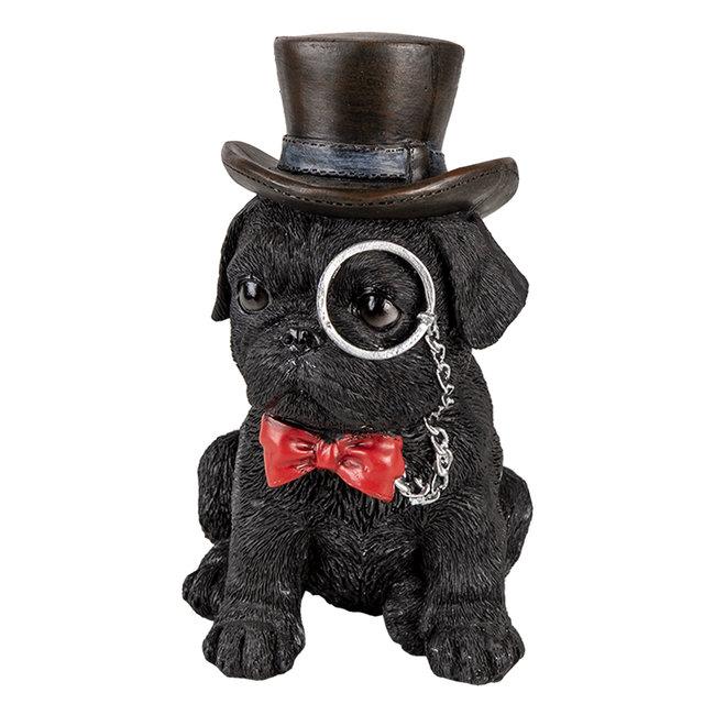 Clayre & Eef Decoratie hond 13*9*17 cm 6PR3369
