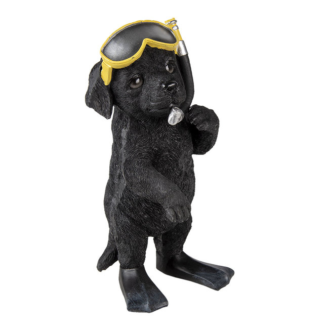 Clayre & Eef Clayre & Eef Decoratie hond 11*11*23 cm 6PR3374