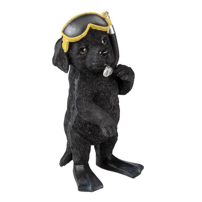Clayre & Eef Decoratie hond 11*11*23 cm 6PR3374