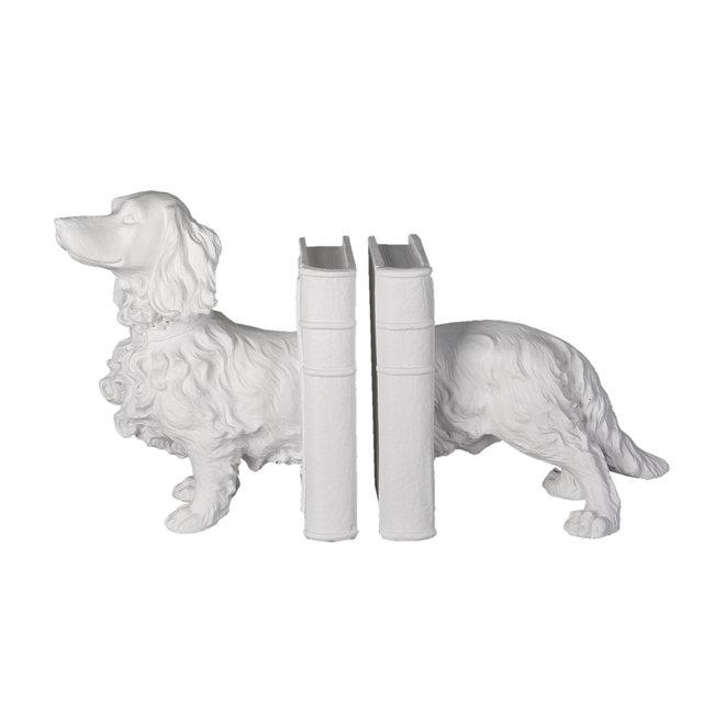 Clayre & Eef Clayre & Eef Boekensteun (2) hond 28*12*22 cm 6PR3394