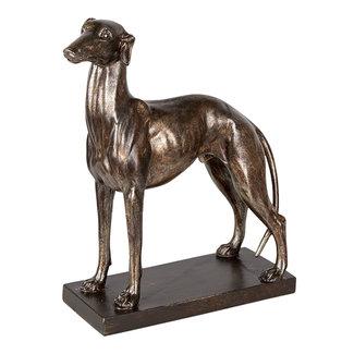 Clayre & Eef Clayre & Eef Decoratie hond 27*11*31 cm 6PR3397