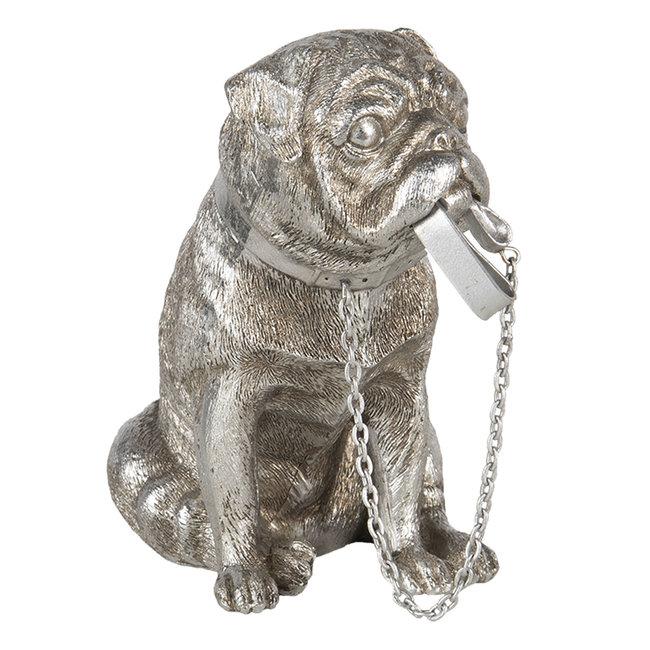 Clayre & Eef Decoratie hond 17*9*15 cm 6PR3431