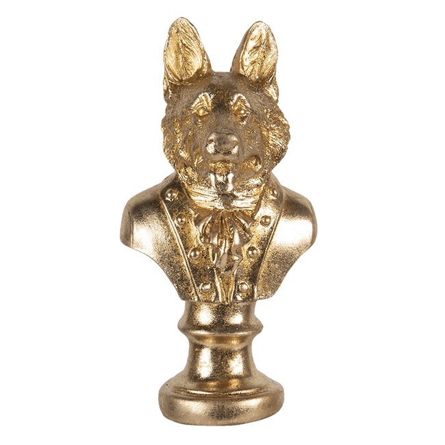 Clayre & Eef Decoratie hond 9*8*17 cm 6PR3445