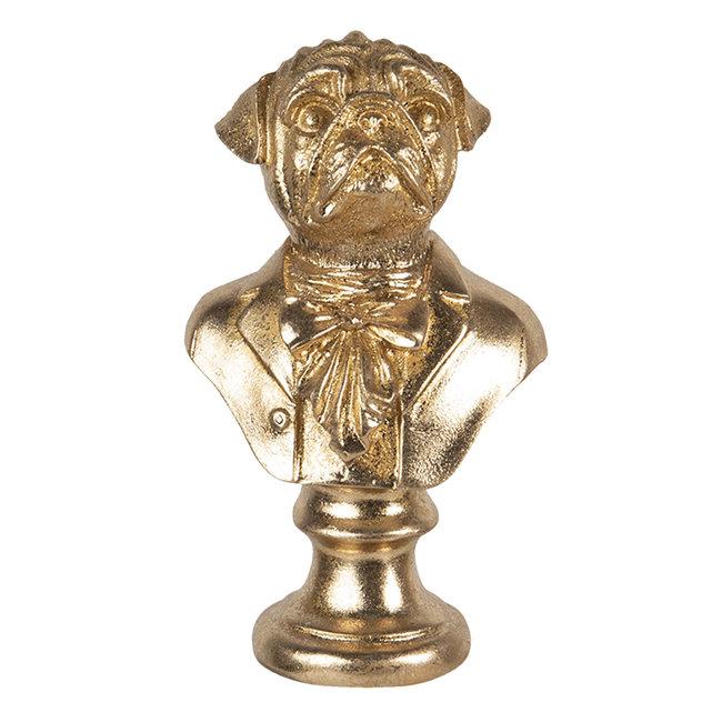 Clayre & Eef Decoratie hond 9*8*15 cm 6PR3446
