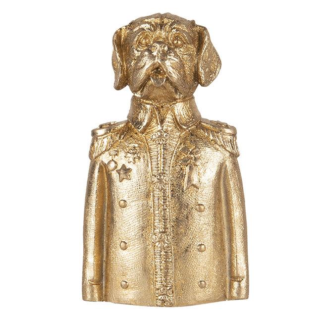 Clayre & Eef Decoratie hond 8*6*15 cm 6PR3451