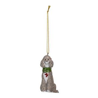 Clayre & Eef Clayre & Eef Decoratie hanger hond 5*3*8 cm 6PR3490