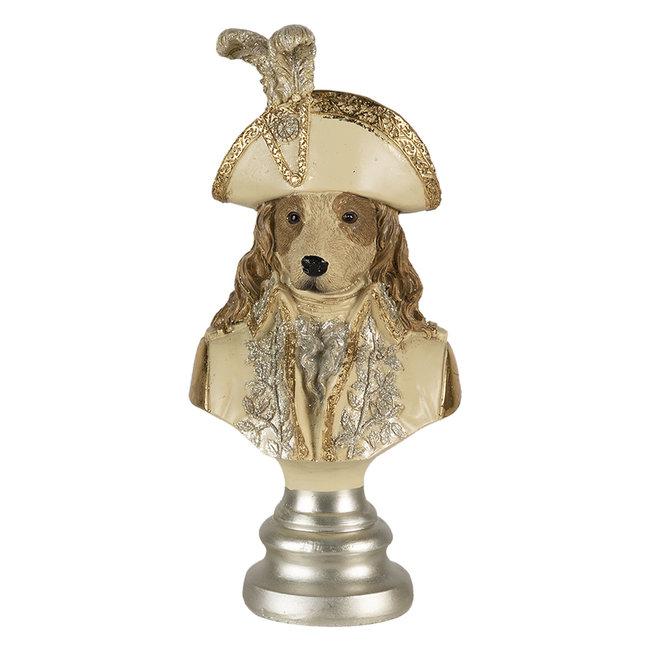 Clayre & Eef Decoratie hond 9*7*20 cm 6PR4615