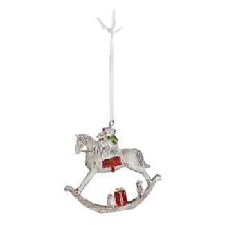 Clayre & Eef Clayre & Eef Decoratie hanger katten 6*2*7 cm 6PR4640