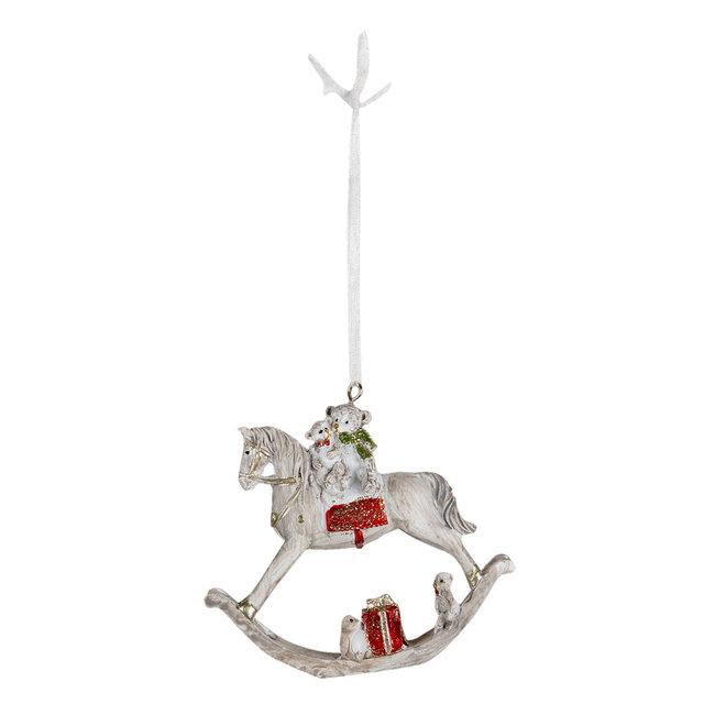 Clayre & Eef Decoratie hanger katten 6*2*7 cm 6PR4640