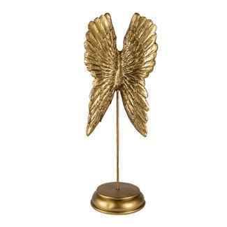 Clayre & Eef Clayre & Eef Decoratie vleugels 16*12*40 cm 6PR4692