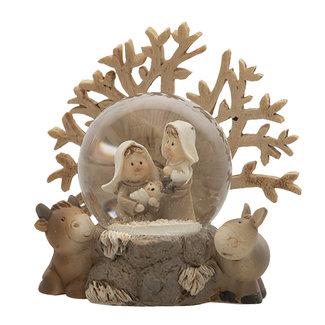 Clayre & Eef Clayre & Eef Kerstgroep 8*5*8 cm 6PR4742