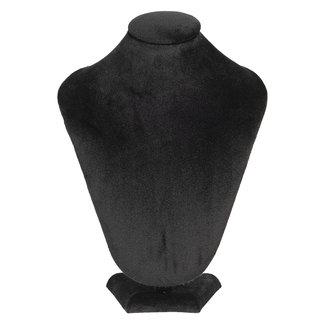Clayre & Eef Clayre & Eef Sieraden display zwart 21*14*30 cm MLDS0054Z