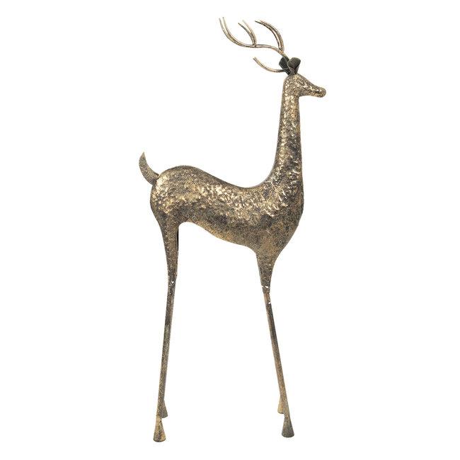 Clayre & Eef Decoratie hert 55*21*132 cm 5Y0706
