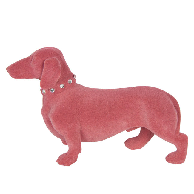 Clayre & Eef Decoratie hond (teckel) 22*8*14 cm 6FU0012P