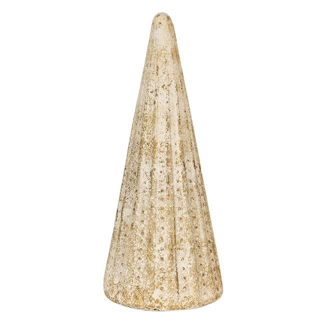 Clayre & Eef Decoratie kerstboom Ø 18*42 cm 6GL3033
