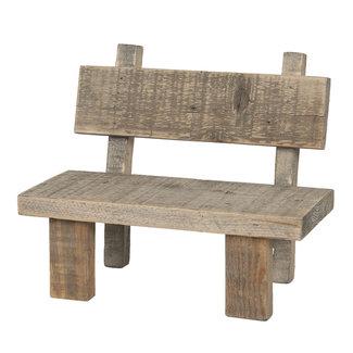 Clayre & Eef Clayre & Eef Decoratie mini stoeltje 28*18*22 cm 6H1865