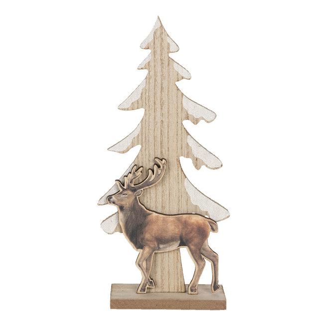 Clayre & Eef Decoratie kerstboom 11*5*24 cm 6H1886