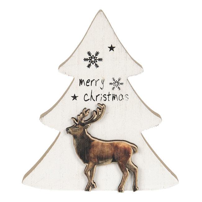 Clayre & Eef Decoratie kerstboom 16*2*14 cm 6H1895
