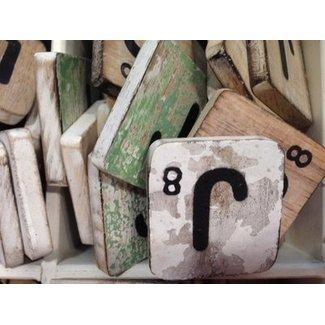 Thils Living houten letters & tekens Scrabble Letter J