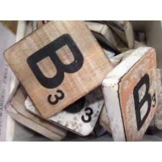 Thils Living houten letters & tekens Scrabble Letter B
