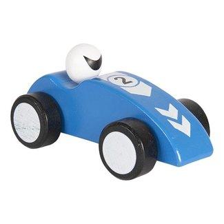 Clayre & Eef Clayre & Eef Decoratie auto 14 cm blauw 64421BL