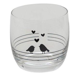 Clayre & Eef Clayre & Eef Drinkglas 8*8 cm / 260 ml 6GL3523