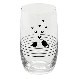 Clayre & Eef Clayre & Eef Drinkglas 7*12 cm / 320 ml 6GL3521