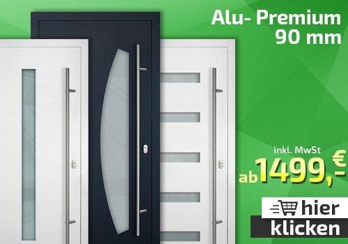 Alu- Premium Haustüren 90mm